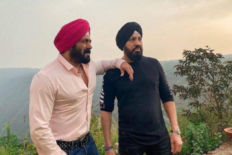 Salman Khan with Shera
