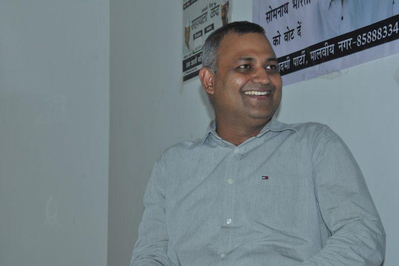 Somnath Bharti jailed