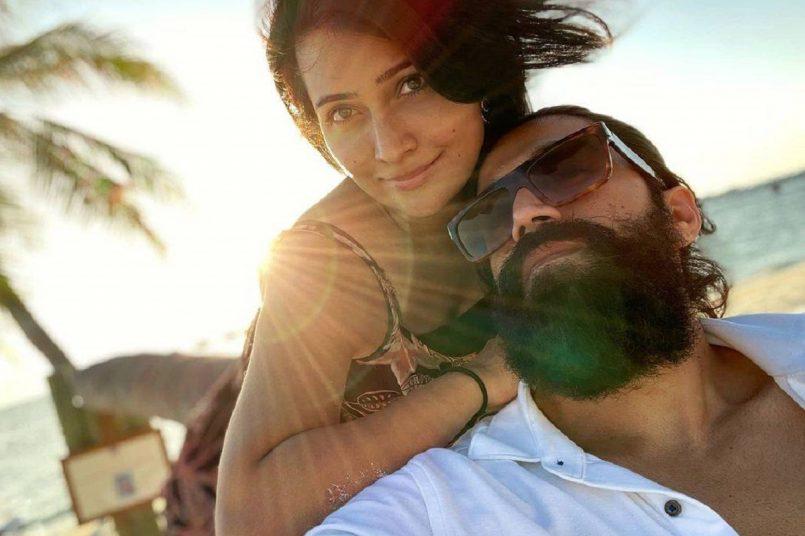 KGF star Yash and wife Radhika in Maldives