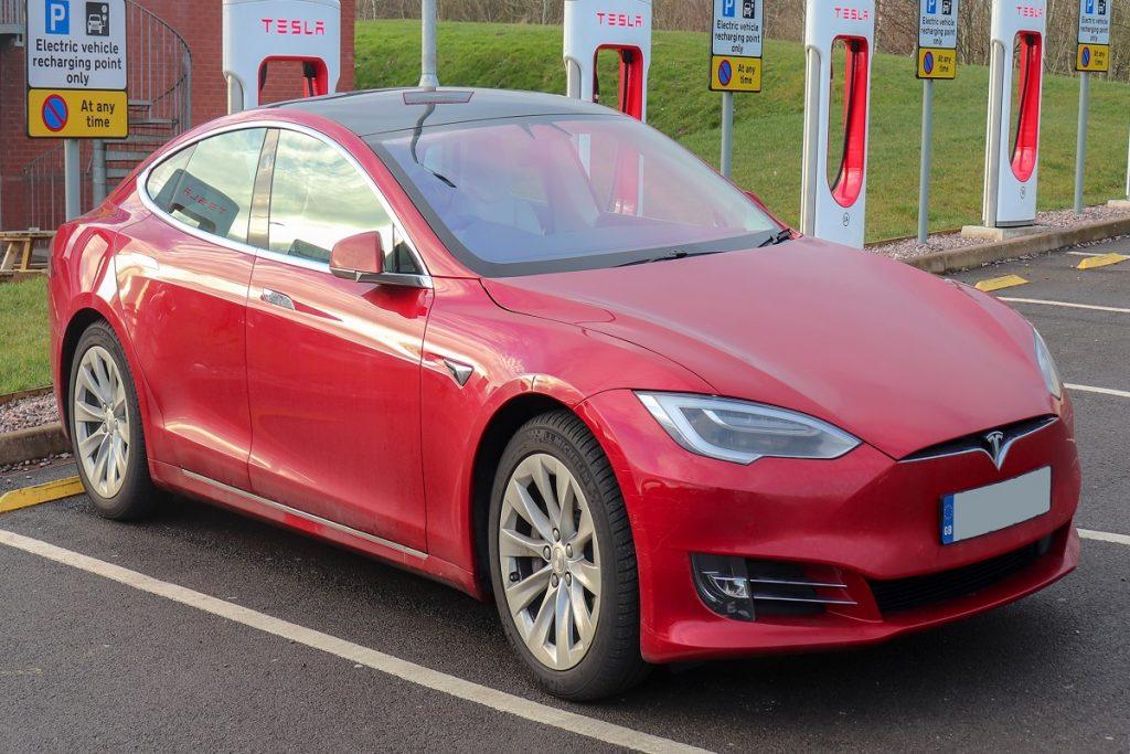 Tesla Model 3 undergoing tests