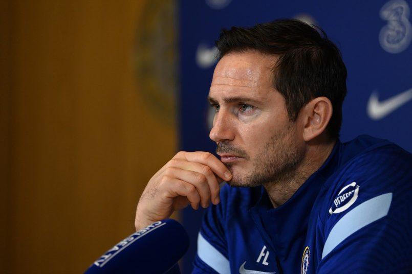 Chelssack head coach Frank Lampard