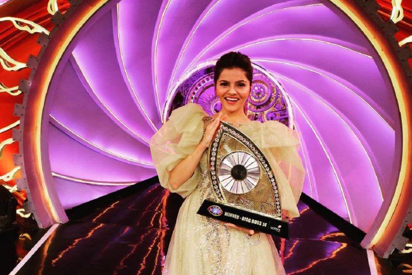 Rubina Dilaik is the winner of Bigg Boss 14