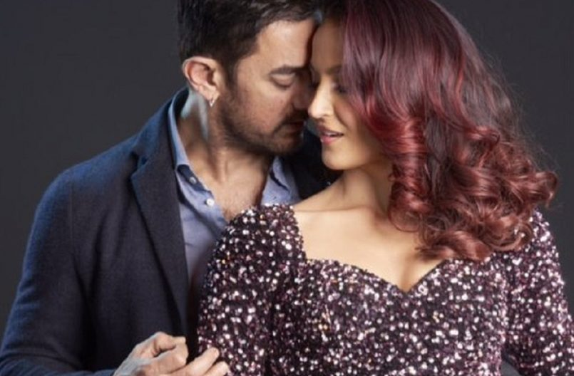 Aamir Khan turns lover boy for Elli AvrRam in first look of Har Funn Maula