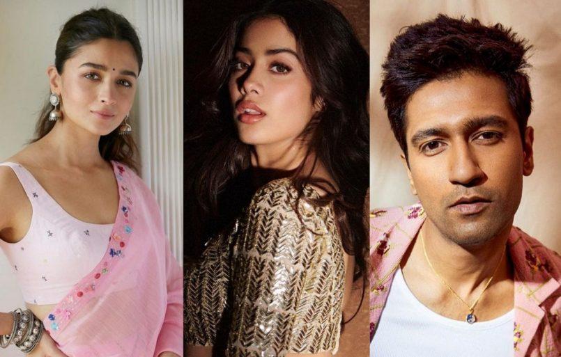 Alia Bhatt to Vicky Kaushal, Bollywood wishes Janhvi Kapoor on 24th b'day