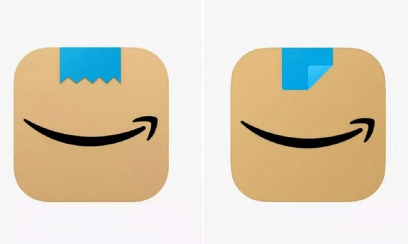 Amazon changes app icon after comparison with the mustache of Hitler