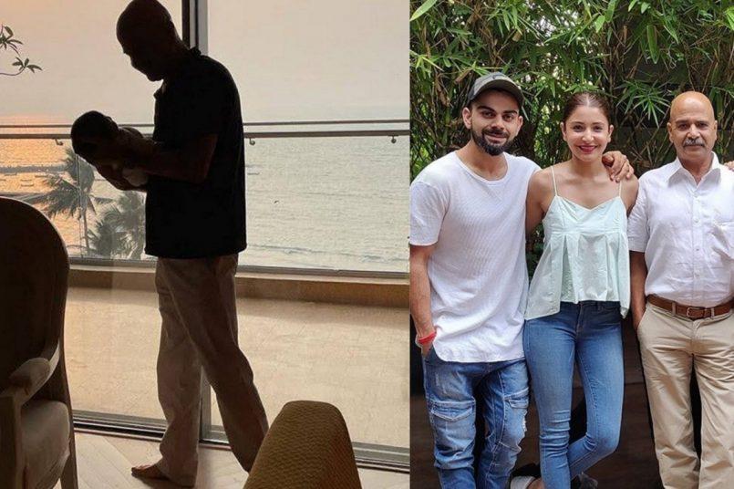 Anushka Sharma wishes father on birthday, shares pics with Vamika and Virat Kohli