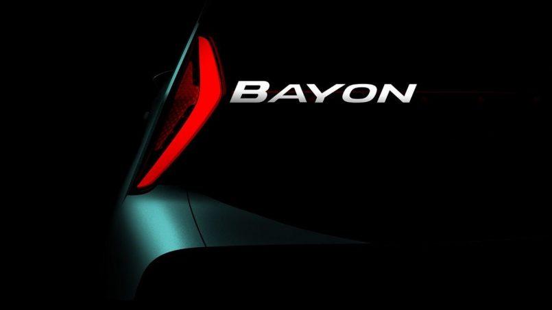 Hyundai uncovers its new SUV Bayon