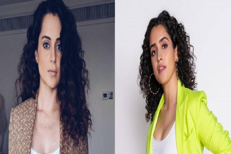 Kangana Ranaut praises Pagglait star Sanya Malhotra, says she is so good