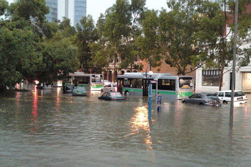 Life threatening flash flood forces parts of Sydney to evacuate