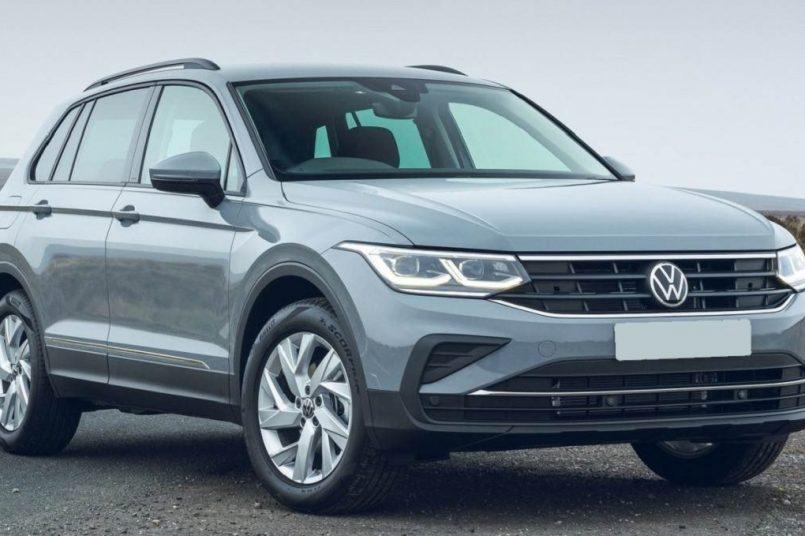 Volkswagen unveils Tiguan SUV facelift for India