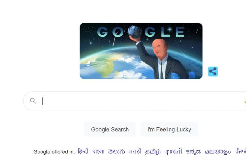 Google Doodle celebrates India's satellite man Udupi Ramachandra Rao
