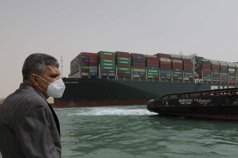 India works out plan to deal with the Suez Canal blockage