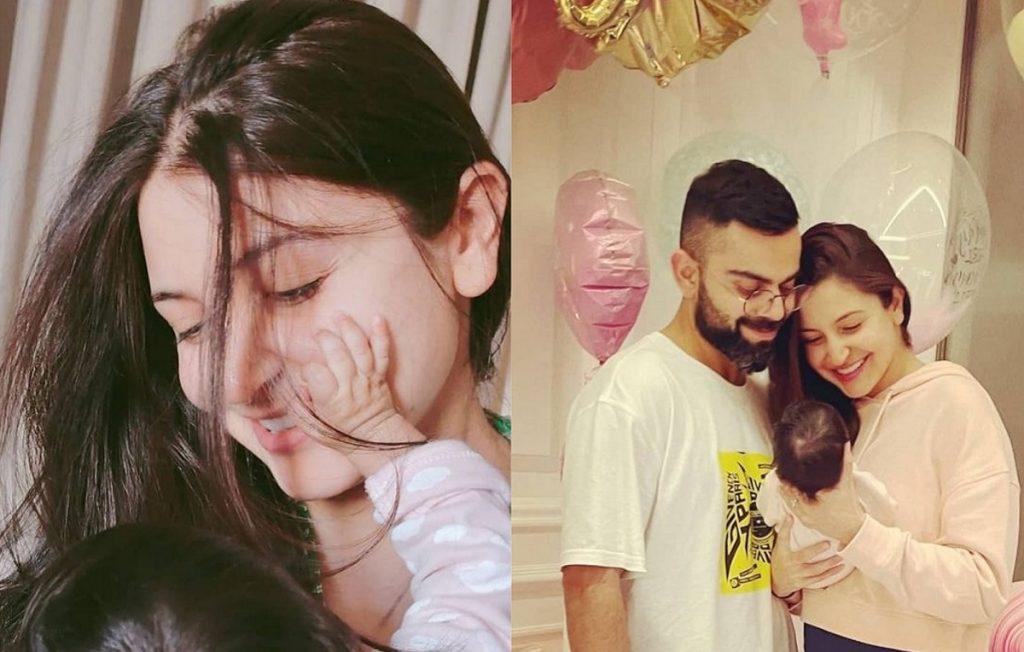 Virat Kohli shares Anushka Sharma, Vamika's pic; says 'way stronger than us men'