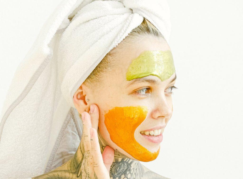 Multi-masking skincare hack