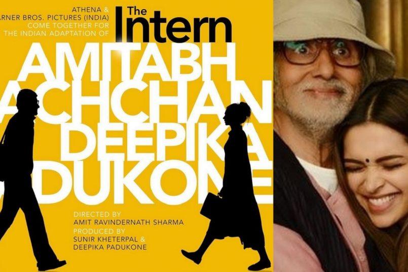 Amitabh Bachchan and Deepika Padukone reunite for The Intern