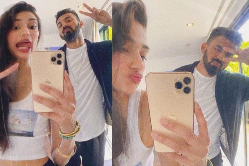Athiya Shetty wishes rumoured boyfriend KL Rahul on b'day; Suneil Shetty reacts