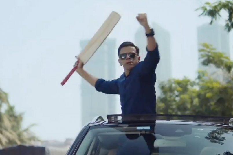 Rahul Dravid in CRED ad