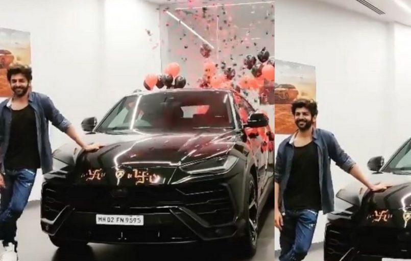 Kartik Aaryan buys Lamborghini after COVID-19 negative report