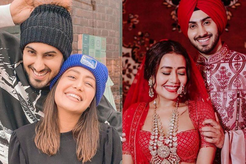 Neha Kakkar celebrates 6 months of being married to Rohanpreet Singh