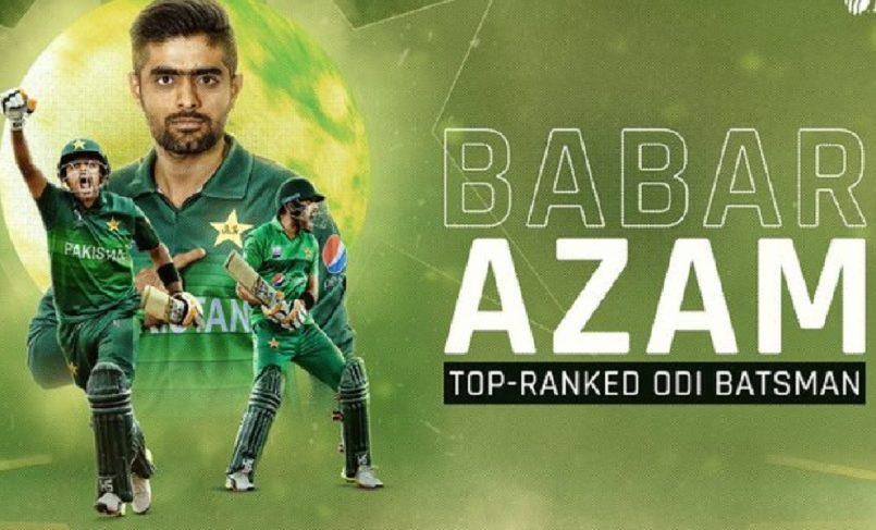 babar azam replaces virat kohli at the top of ODI rankings