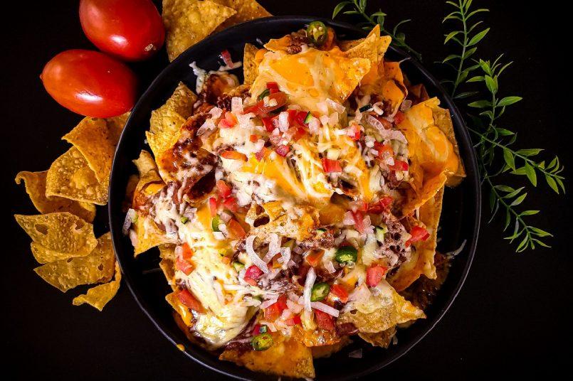 nachos salsa cheese dip recipe