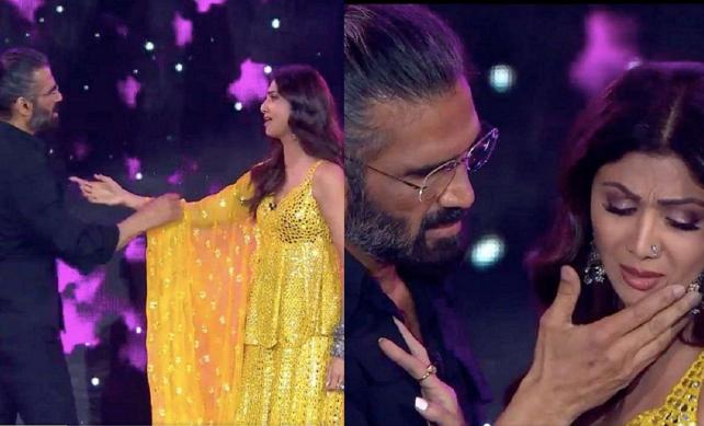 Super Dancer 4 Update: Sunil Shetty & Shilpa Shetty Recreates their Iconic Scene from 'Dhadkan'