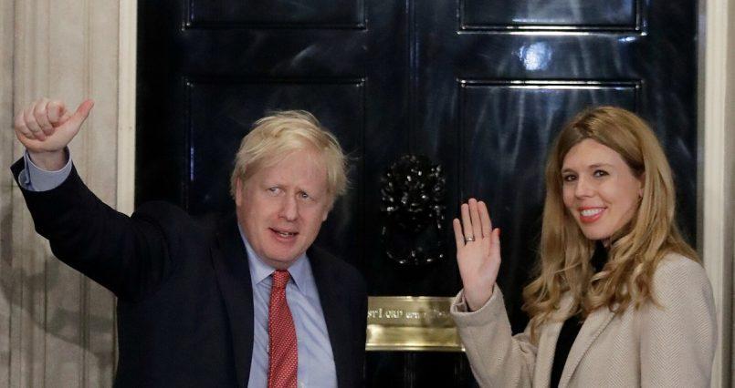 UK PM Boris Johnson, his girlfriend Carrie Symbols marry secretly