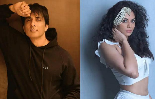 Big Boss 14 fame actress Kavita Kaushik slams Sonu Sood fans for pouring milk over his poster