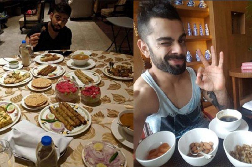 Virat Kohli's diet