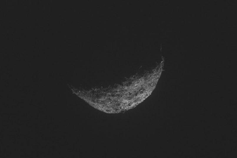 NASA shares image of asteroid Bennu