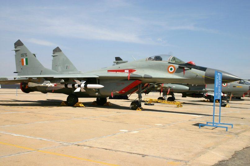 IAF MiG-21 fighter jet crashes in Punjab, pilot dies