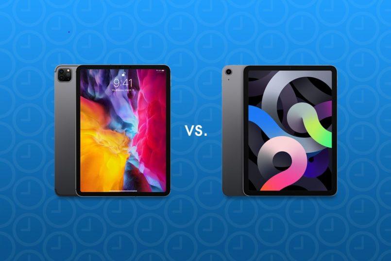 apple iPad Pro 2021 vs iPad Pro 2020