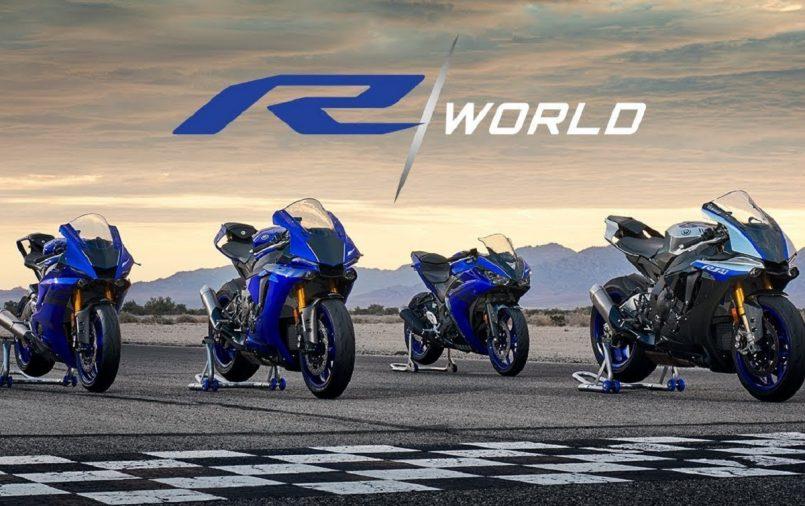 Yamaha R Series sports bike