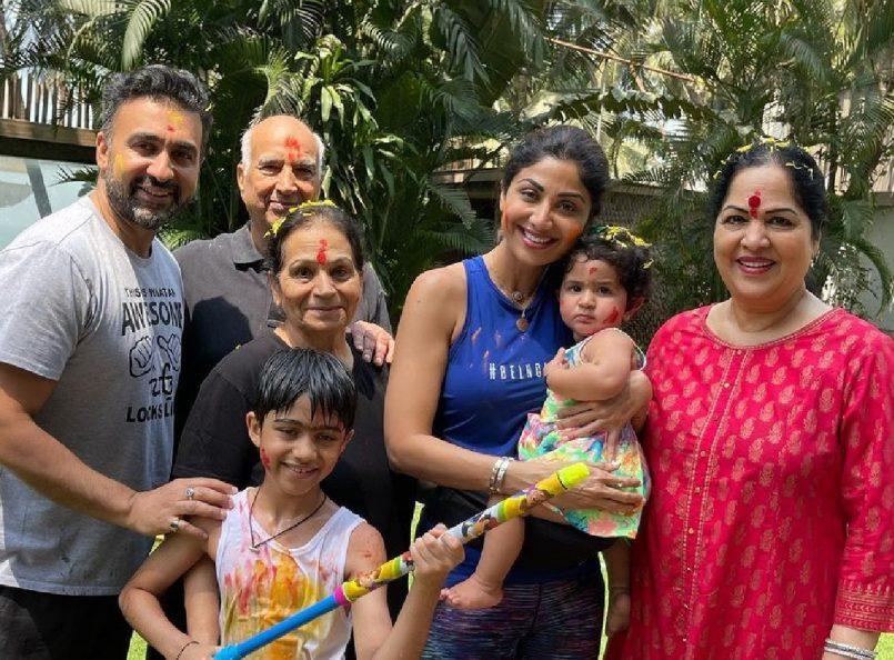 Shilpa Shetty's family tests COVID positive