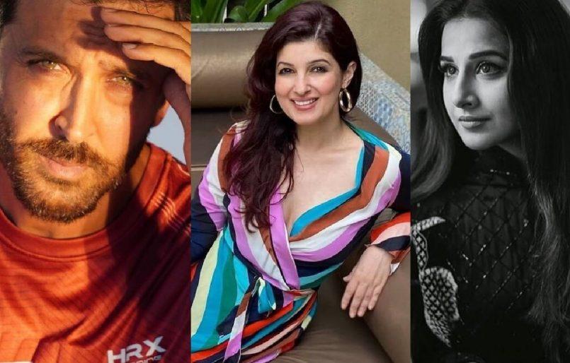twinkle Khanna praises Hrithik Roshan & Vidya Balan for 'quiet' COVID relief work