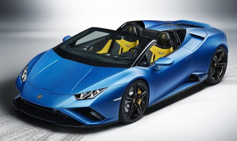 Lamborghini Launches Huracan EVO RWD Spyder at Rs 3.54 crore in India