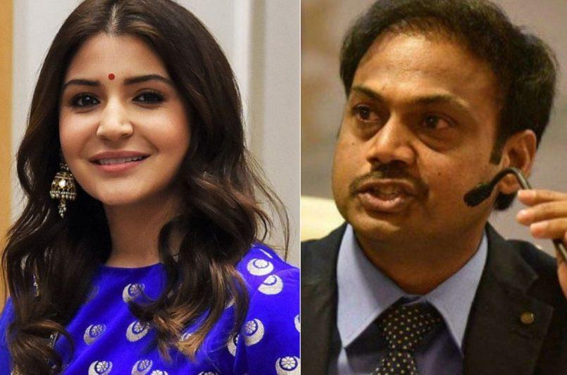 Former Indian team selector MSK Prasad breaks silence on 'serving tea' to Anushka Sharma