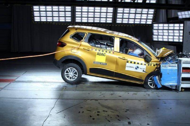Global NCAP crash test: Renault Triber