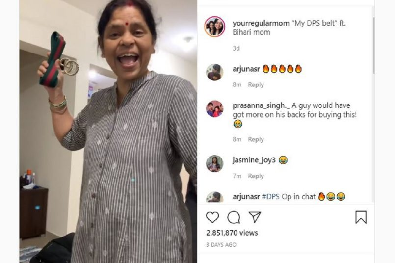 Viral: Watch this mother's shocking reaction to Rs 35,000 Gucci belt