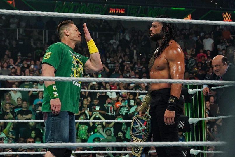 WWE Money in the Bank 2021 John Cena