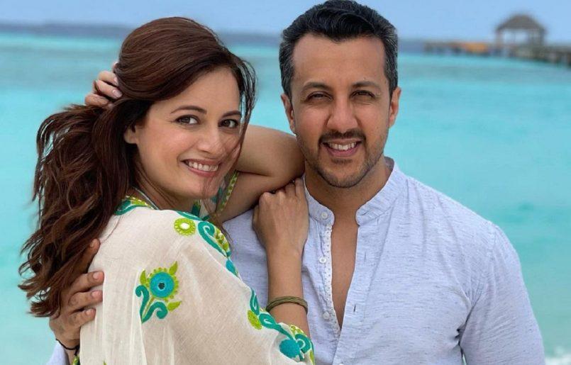 Dia Mirza and husband Vaibhav Rekhi welcome baby boy via C-section