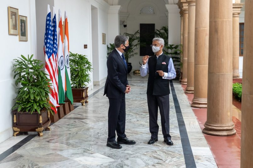 US State Secretary Antony Blinken discusses a host of issues, reaffirms ties with India