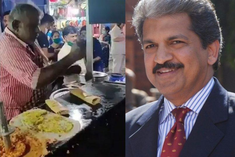 Anand Mahindra shares video of 'dosa man'