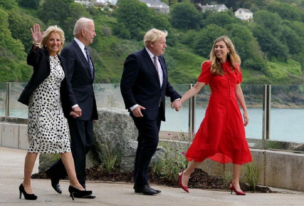 Boris Johnson and Carrie