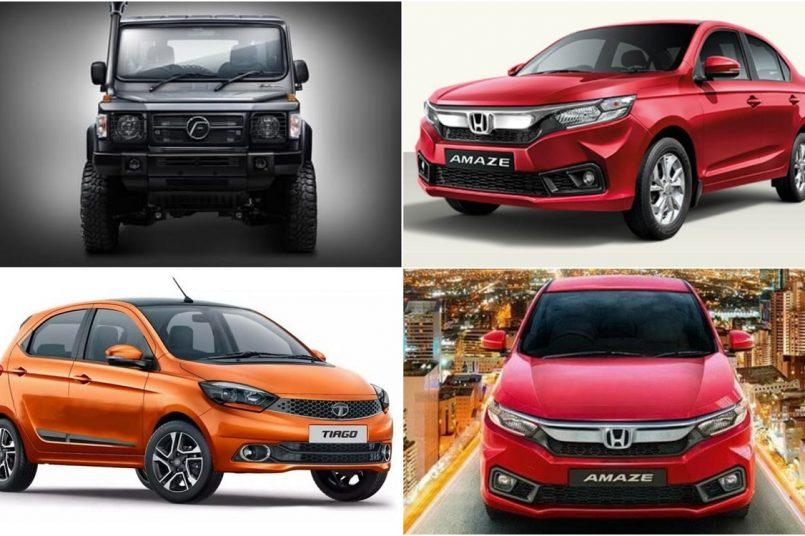 Mahindra XUV700 to Honda Amaze facelift