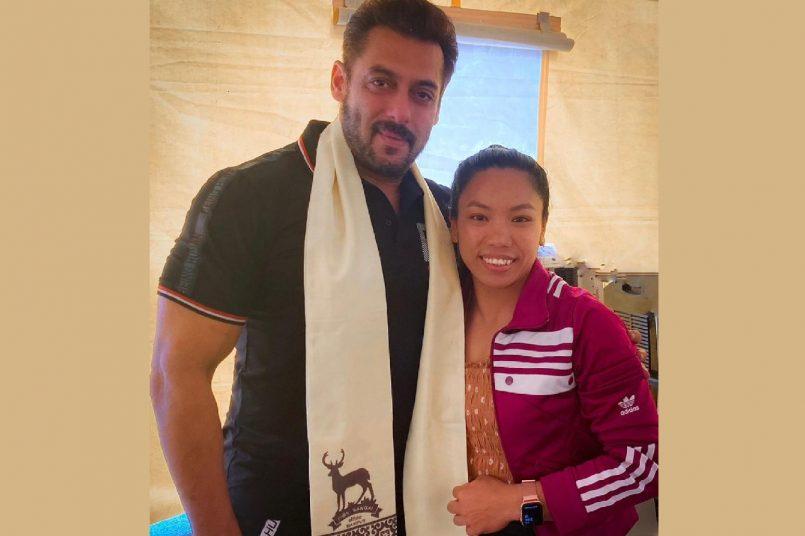 Salman Khan - Mirabai Chanu