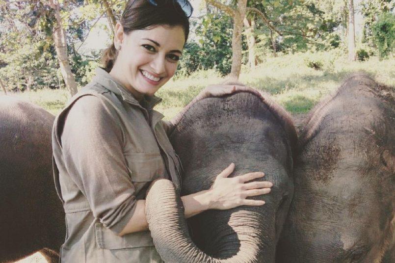 Dia Mirza celebrates World Elephant Day with adorable throwback pictureDia Mirza celebrates World Elephant Day with adorable throwback picture