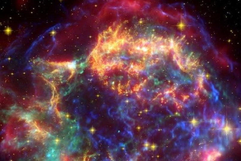 NASA shares pic of 300-year-old remnant from a supernova explosion