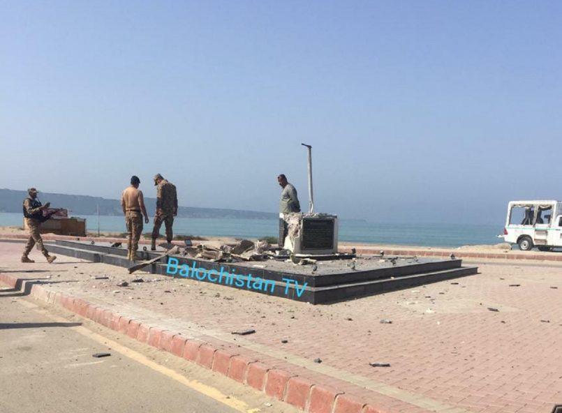Mohd Ali Jinnah's statue blasted off in Balochistan, BLA claims the destruction