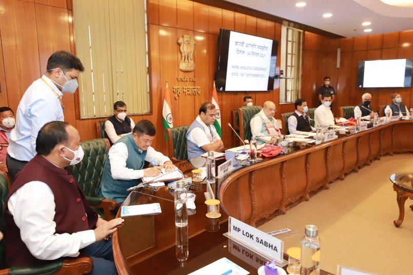 Assam, Centre and Karbi finally sign Karbi Peace Accord